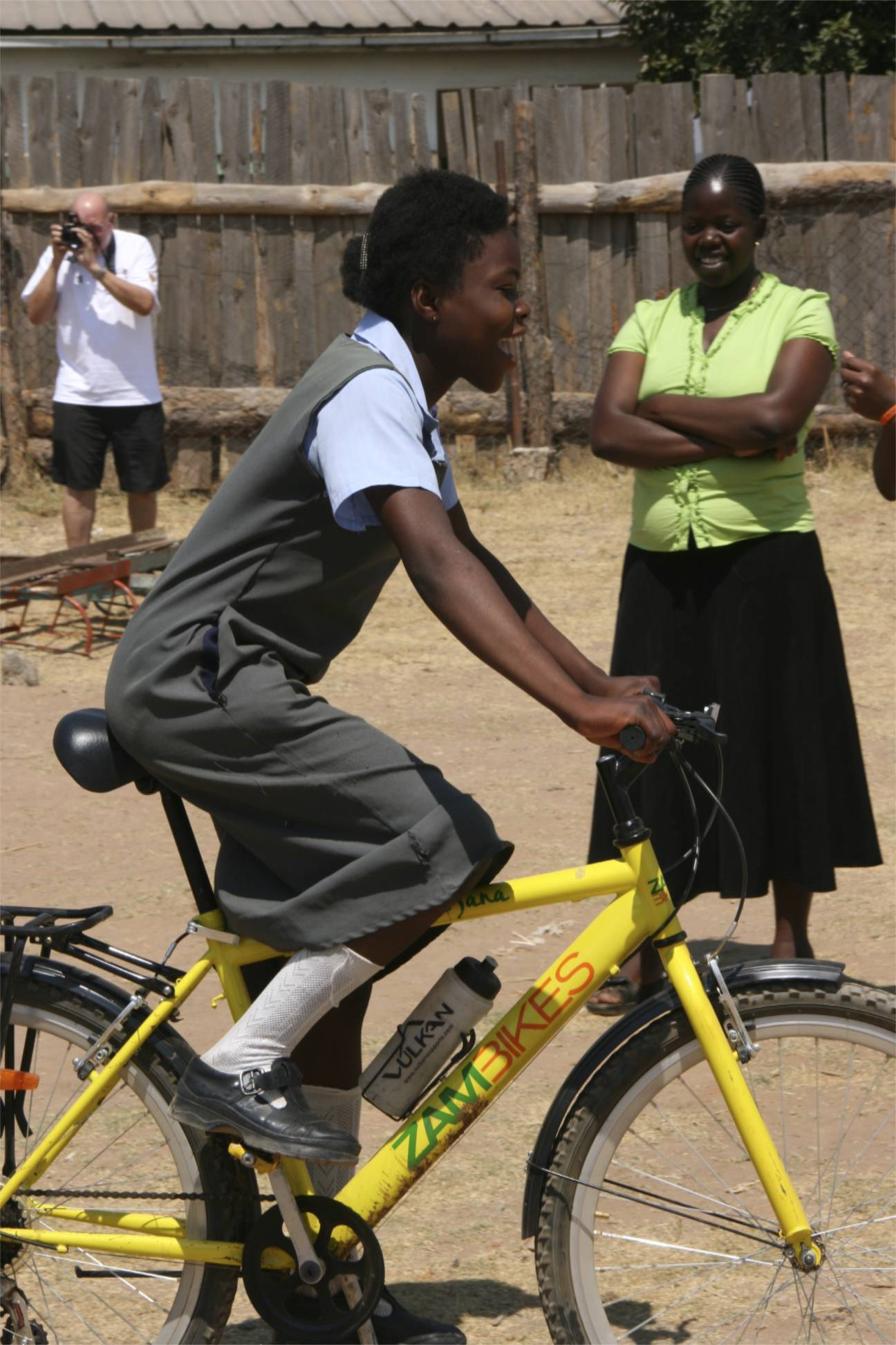 Not only building bicylces but changing lives: A visit to Zambikes