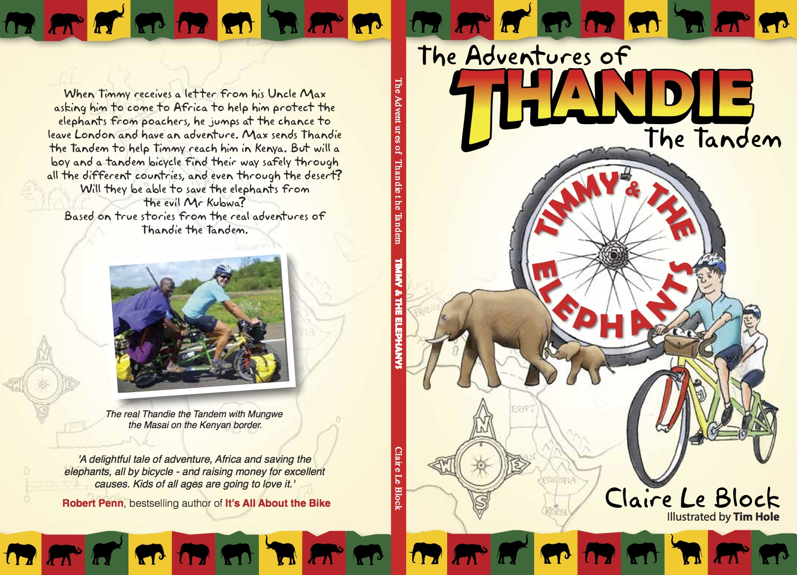 New - Children's Book - The Adventures of Thandie the Tandem