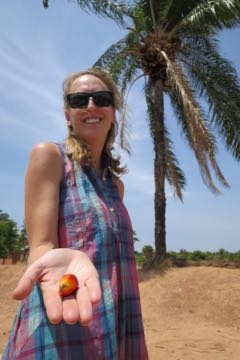 Beatrice with Palm