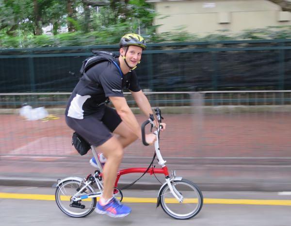 Beyond the Bike - Bromptons and BA join Beyond the Bike
